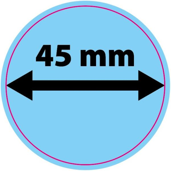 Sticker - Rond 45mm