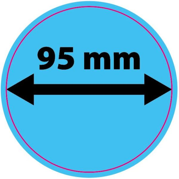Sticker - Rond 95mm